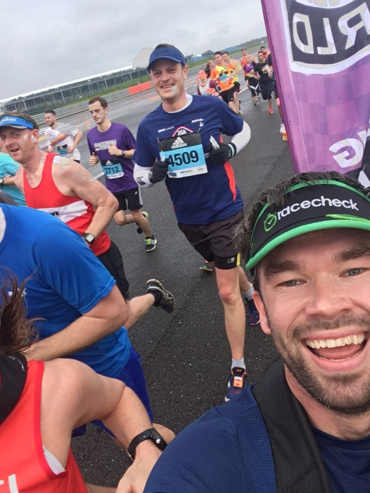 Silverstone Half Marathon 2017 | Paul Addicott | Member Blogs | Linked Fitness