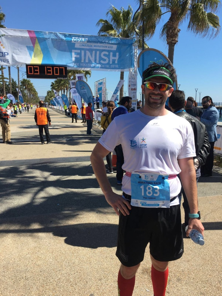 Limassol Marathon 2017 | Paul Addicott | Member Blogs | Linked Fitness Community