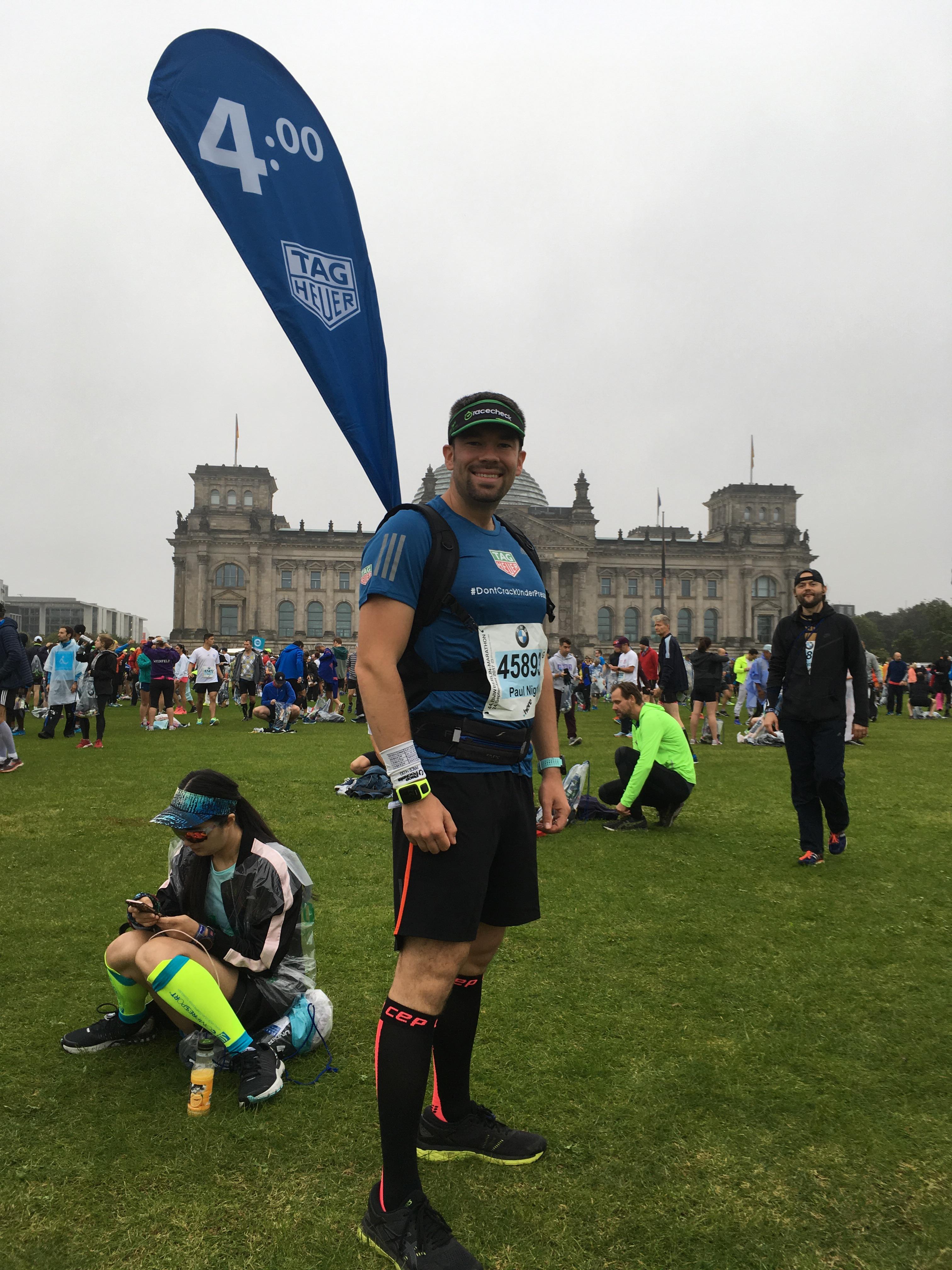 Berlin Marathon Kursrück