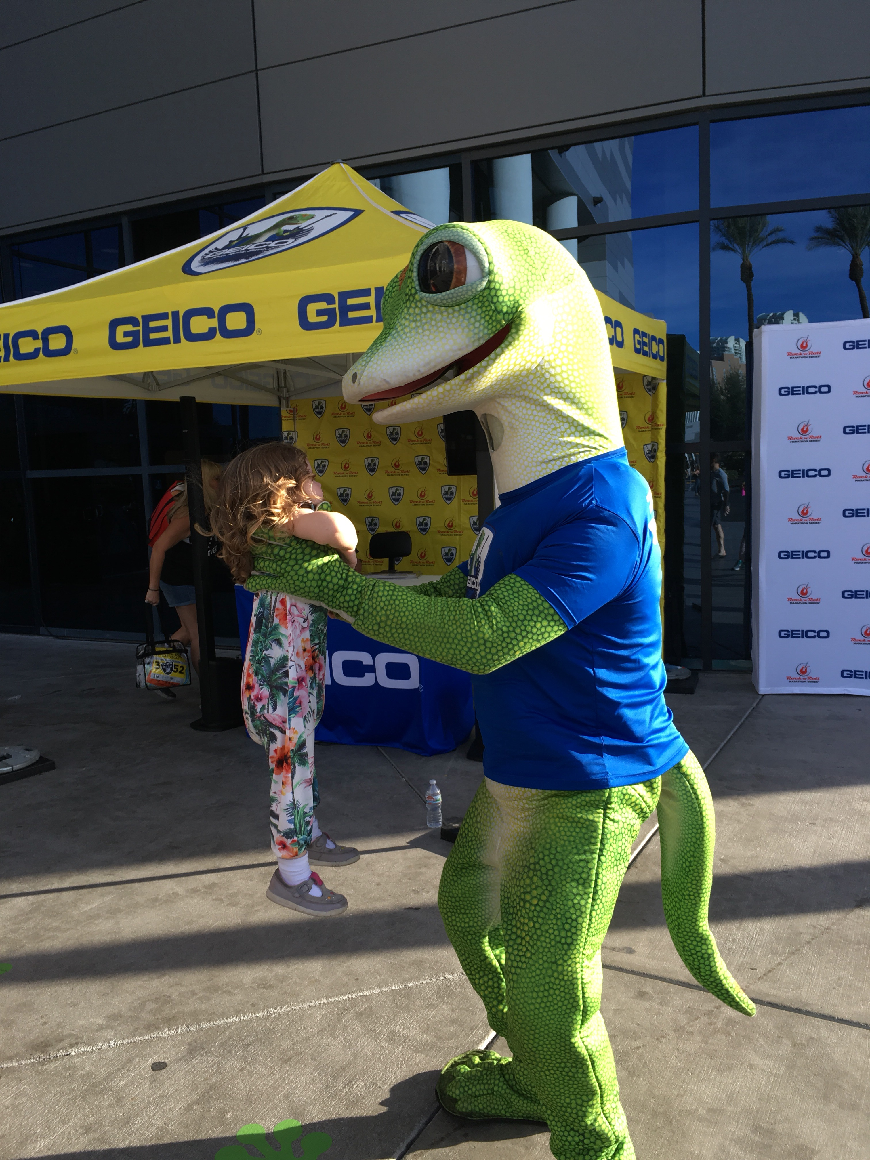 Geico rock and roll