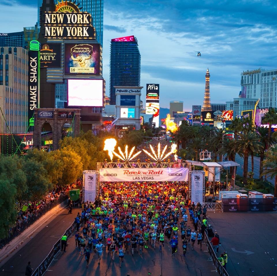 Las Vegas start