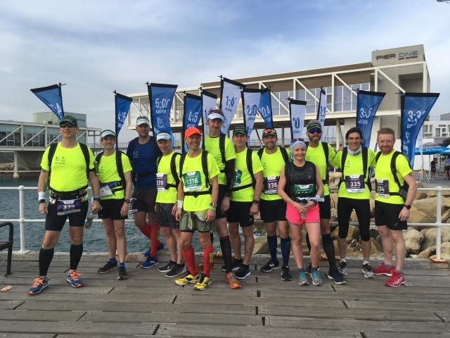 Limassol Marathon 2018 – Day Two: Marathon – pickupthepacepaul